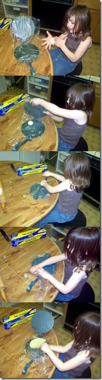 Emily Making Torillas